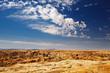 Moon Landscape in Namib Desert near Swakopmund, Namibia.
