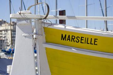 Barque de pêche Marseille