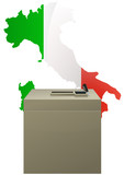 Election italienne poster