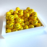 Box full of smilies in different moods, 2 poster