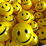 Box full of smilies in different moods,  poster