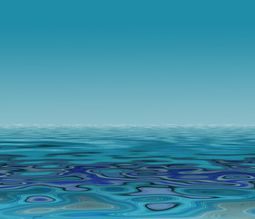 Colorful illustration of water pattern