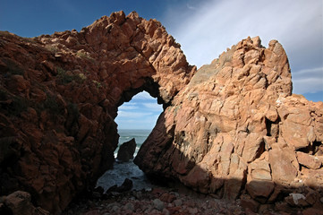 Gate to the ocean. Atlantic coast. Morocco.