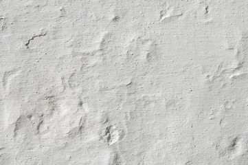 Rugged white wall