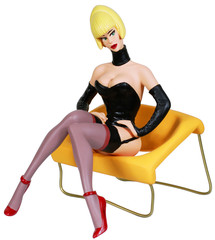 Pin-up Girl Blonde