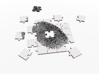 jigsaw puzzle fingerprint