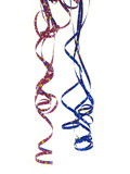 luftschlangen party deco poster