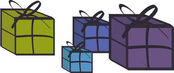4 cadeaux