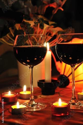 romantischer abend von simone werner ney lizenzfreies foto 5495875 auf. Black Bedroom Furniture Sets. Home Design Ideas