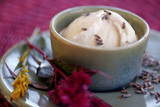 Ice Cream with Honey and Lavender