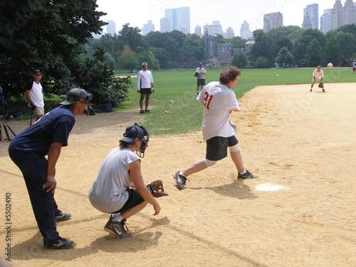 baseball spielen