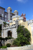 view of a reinassance castle in sintra