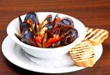 Mussels saute (ragout) poster