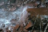 Base of Waterfall, Fall Creek Falls poster