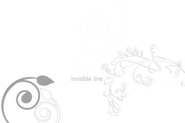 invisible line