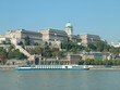 Castle in Budapest in Hungary