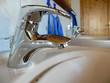 Wasserhahn im Badezimmer