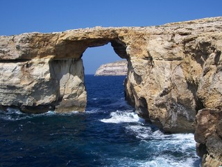 Azure Window , Gozo