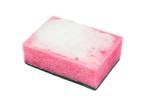 sponge with foam poster