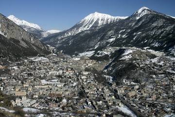 Briancon, French Alps