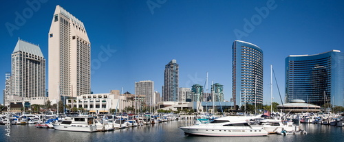 Leinwanddruck Bild San Diego Bay