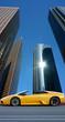 Fototapete Downtown - Skyscraper - Gebäude