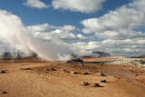 Geothermal activity in Hverarond  poster