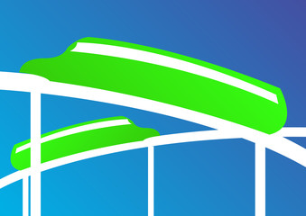 green monorail