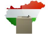 Election hongroise poster