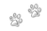 silver trace from paws animal poster