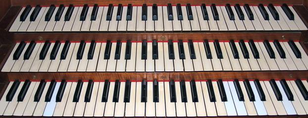 Orgeltasten