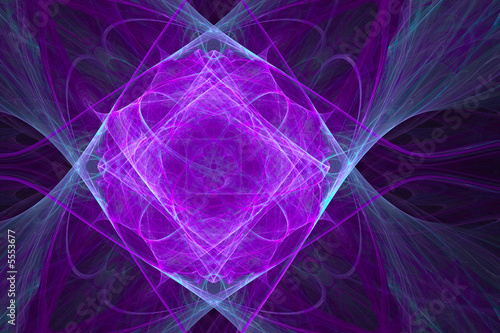 Magic background made of violet and light blue colors