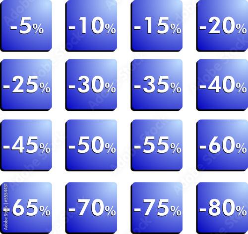 Sconto in percentuale