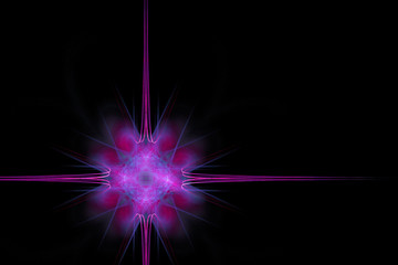 Abstract background made of violet and magenta colors