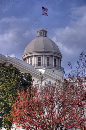 The Capitol of Montgomery Alabama