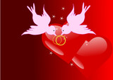 illustration de la saint valentin