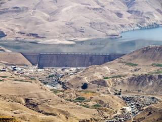 Water dam in Jordan