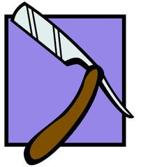 barber knife