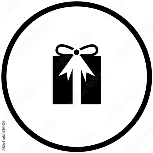 Photo: christmas or birthday gift symbol © mikess #