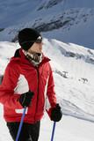 Nordic walking in winter 4 poster