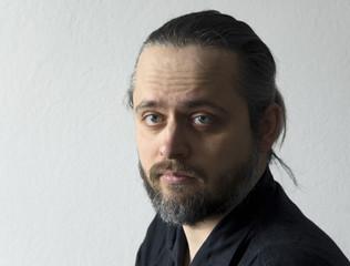 Männerportrait mit Bart
