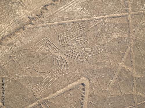 Nazca Lines Peruvian Desert - 5578091