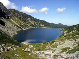 Czarny staw (Black Pond) in Tatra Mountines