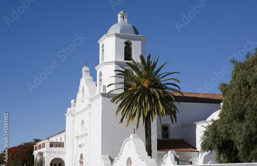 Mission San Luis Rey in San Diego, California