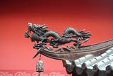 Ušlechtilé střecha používá drak nalákat v prosperitě do chrámu