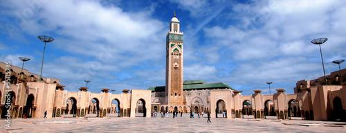 Deurstickers Marokko moschea di Hassan 2`a Casablanca in Marocco