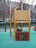 Terrain de jeu pour enfants, Paris poster