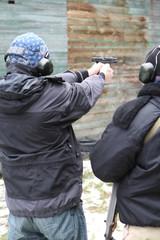 Target practice (pistol)