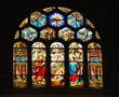 Stained Glass Creche - 5587456
