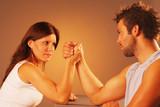 Arm wrestling poster
